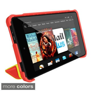 rooCASE Origami 3D Slim Shell Folio Case Smart Cover Stand for Amazon Kindle Fire HD 7