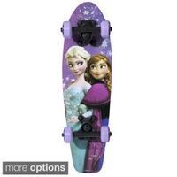 Disney Frozen Kids 21-inch Complete Skateboard