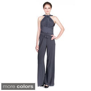 Women's Ladies Multiway Jumpsuit Rompers Playsuits (Option: M)|https://ak1.ostkcdn.com/images/products/9776405/P16946509.jpg?impolicy=medium