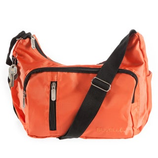 Suvelle 2054 Slouch Travel Crossbody Bag (Option: Orange)