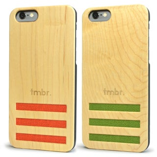 Tmbr Maple Wood iPhone 6/ 6s Case with Linen