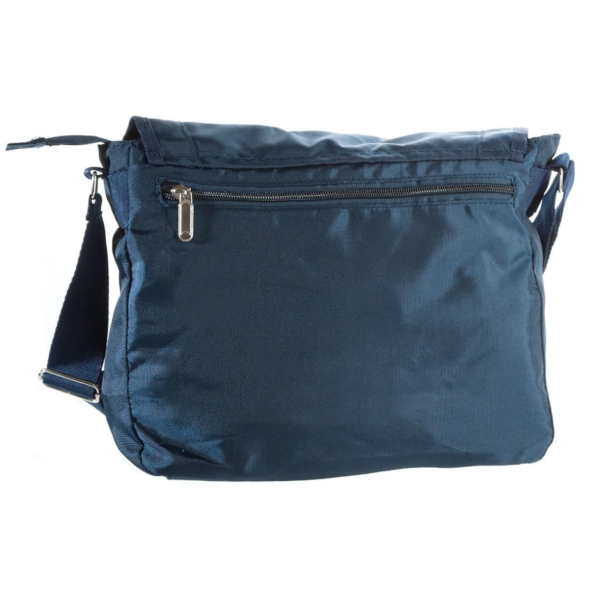 Suvelle Lightweight Flapper Travel Everyday Crossbody Bag Multi Pocket Shoulder Handbag 9902