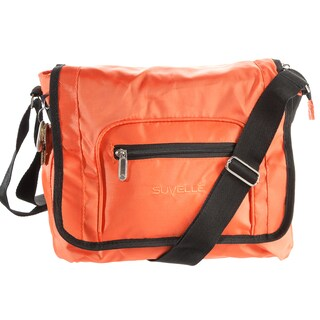 Suvelle 9902 Flapper Travel Crossbody Bag (Option: Orange)