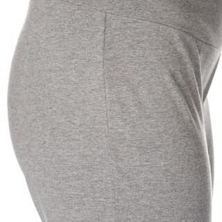 Teez-Her Women's Skinny Capri Pant w/Invisible Tummy Smoothing Panel