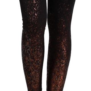 Nikibiki Seamless Glitter Gradation Paint Ankle Leggings