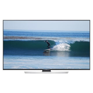 Samsung UN50HU8550 50-inch 4K Ultra HD 120Hz 3D Smart LED TV with 2 Pairs of 3D Glasses