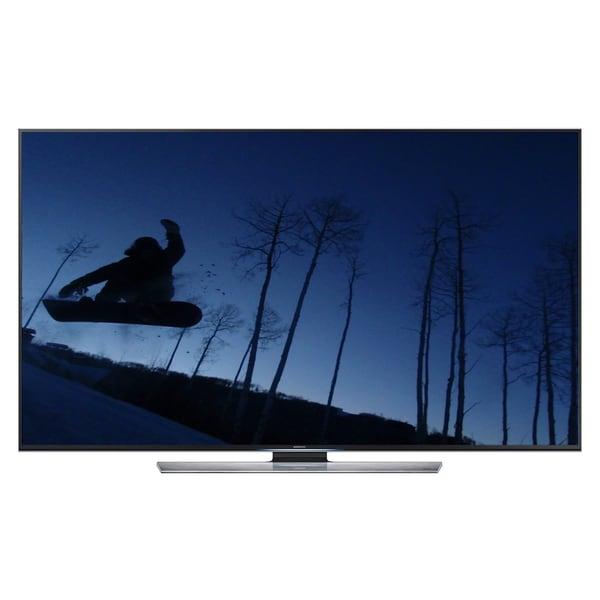 Samsung 60 Inch 4K Ultra HD 120Hz 3D Smart LED TV (2 Pairs 3D Glasses)-UN60HU8500A (Refurbished)
