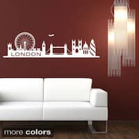 Shop Vancouver Skyline Wall Decal On Sale Free