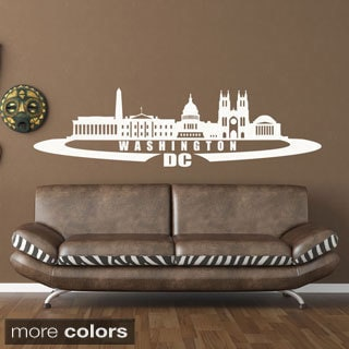 Washington D.C. Skyline Wall Decal