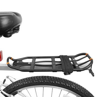 BV Bike Black Double Elastic Strap with Hooks