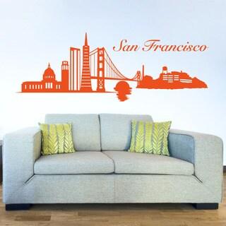 San Francisco Skyline Wall Decal