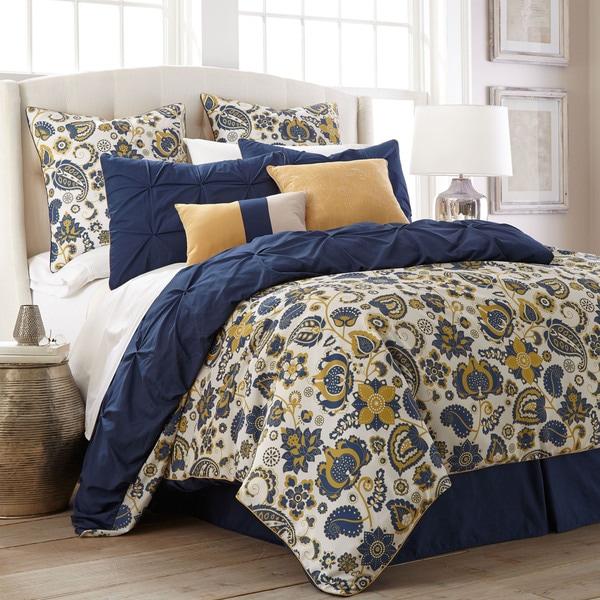 Amraupur Overseas Lorna Paisley 8-piece Comforter Set