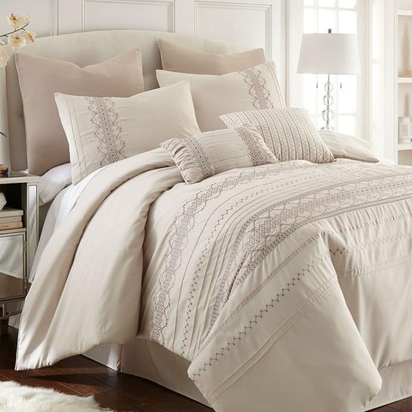 Amraupur Overseas Shadow Creek 8-piece Comforter Set