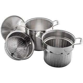 Culina Stainless Steel 4-piece 12-quart Multi-cooker