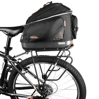 Ibera PakRak Clip-on Quick-release Commuter Bag and Touring Carrier Rack