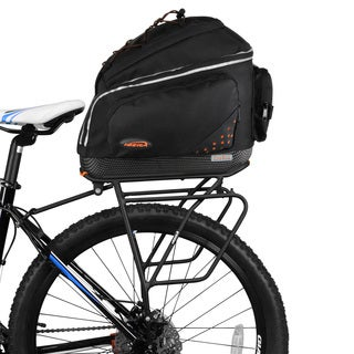 Ibera Bike PakRak Clip-on Commuter Bag and Carrier with Rack