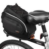 Ibera Bicycle PakRak Mini Commuter Bag and Mini Seatpost Rack