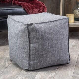 Christopher Knight Home Alder Fabric Cube Ottoman