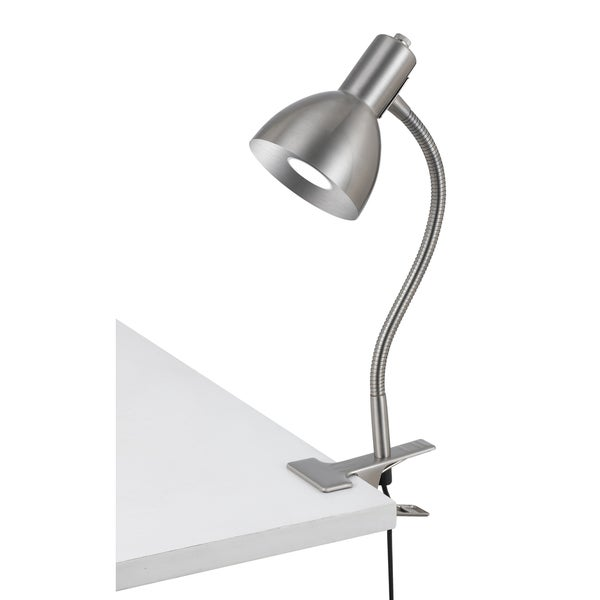Cal Lighting LED Gooseneck Clamp-On Lamp