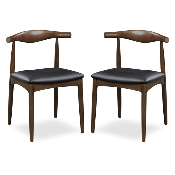 Shop Poly and Bark Keren Solid Wood Dining Chair (Set of 2 ...