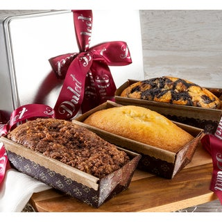Dulcet's Gourmet Assorted Loaf Cakes in Gift Tin