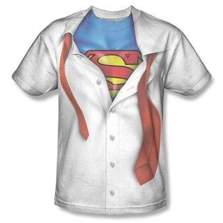 Clark Kent Superman Transform Tie Cotton T-shirt Costume