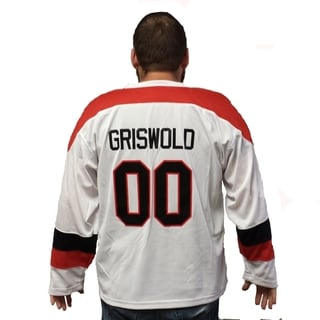 Clark Griswold #00 Movie Hockey Jersey Christmas (Option: 3xl)