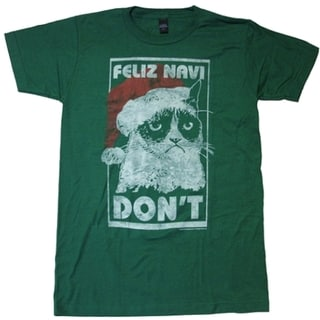 Grumpy Cat Feliz Navi Don't Christmas T-shirt