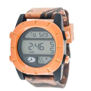Mossy Oak Men's Digital Adventure Terrain Field Officially Orange Watch