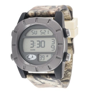 Mossy Oak Men's Digital Adventure Terrain Field Officially Grey Watch