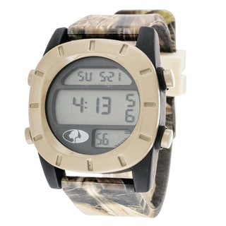 Mossy Oak Men's Digital Adventure Terrain Field Beige Watch