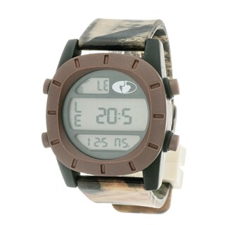 Mossy Oak Men's Digital Adventure Terrain Field Officially Brown Watch