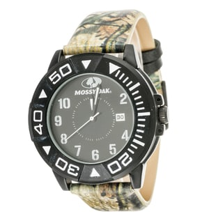 Mossy Oak Men's Analog All Terrain Field Officially Infinity Frontier Watch