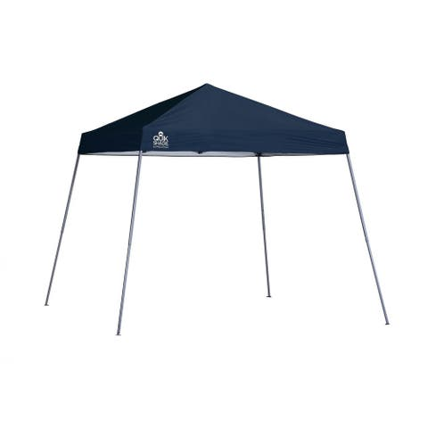 Quik Shade Expedition 10 x 10 Ft. Slant Leg Canopy Green Cover - Gray Frame - Not Available