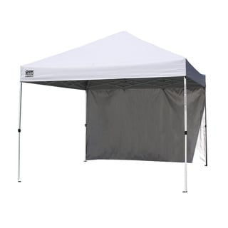 Quik Shade Commercial Instant Canopy with Wall Panel
