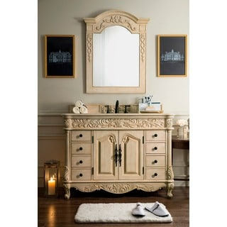 Monte Carlo 48-inch Parchment Single Vanity