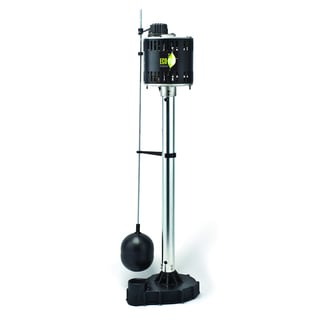 ECO-FLO EPC33 115-volt Pedestal Sump Pump with Cast Iron Base