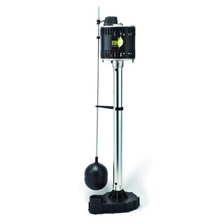 ECO-FLO EPC33 115-volt Pedestal Sump Pump with Cast Iron Base