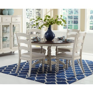 Hillsdale Pine Island Round Dining Set (4 options available)