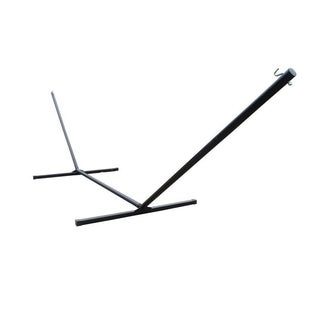Heavy Duty Black 15-foot 3-beam Hammock Stand