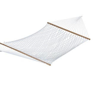 White Polyester Rope 60-inch Double Hammock|https://ak1.ostkcdn.com/images/products/9778450/P16948277.jpg?impolicy=medium