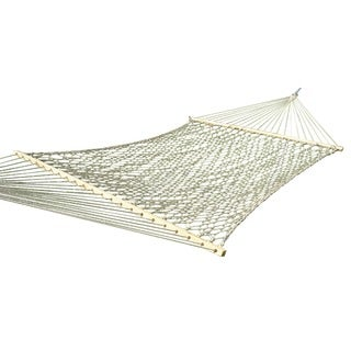 Cotton Rope Natural Double Hammock