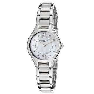 Raymond Weil Women's 5124-STS-00985 Noemia Mother of Pearl Diamond Stainless Steel Watch