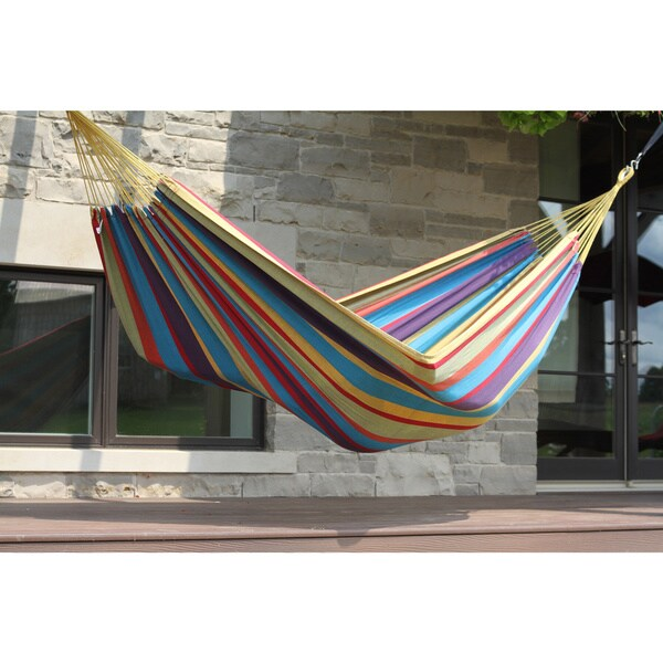 brazilian style double hammock brazilian style double hammock   free shipping on orders over  45      rh   overstock