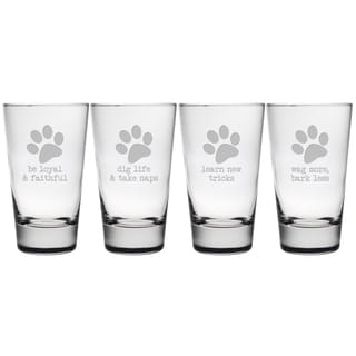 Dog Wisdom Hiball Glasses (Set or 4)
