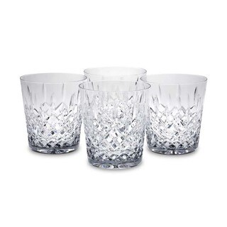 Reed & Barton Hamilton Double Old Fashioned Glasses (Set of 4)