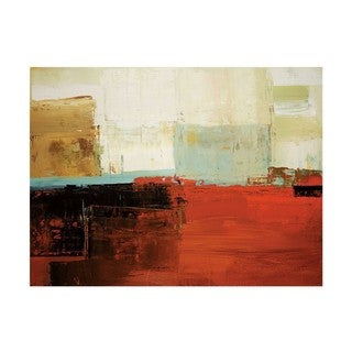 Peter Colbert 'Umber Tones' Gallery Wrap Canvas