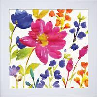 Wild Apple Portfolio 'Floral Medley I ' Framed Artwork