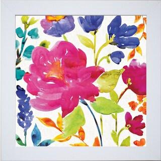 Wild Apple Portfolio 'Floral Medley II' Framed Artwork