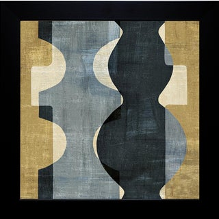 Wild Apple Portfolio 'Geometric Deco II' Framed Artwork